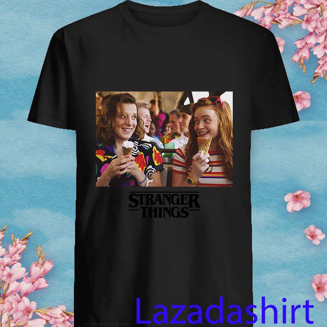 Stranger Things 3 Eleven and Max Shirt