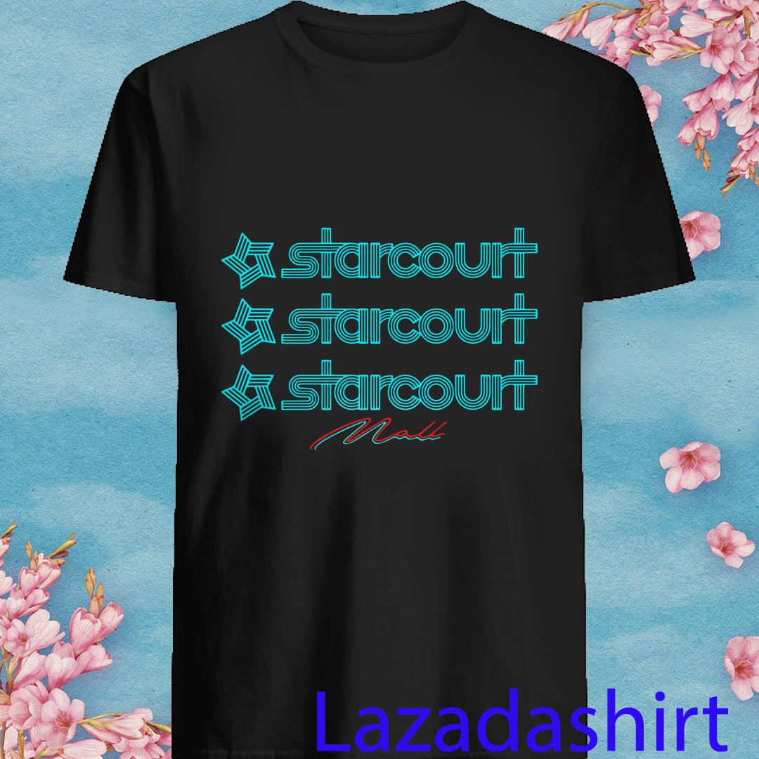 Stranger Things Inspired Starcourt Mall Adult Fitted Shirt
