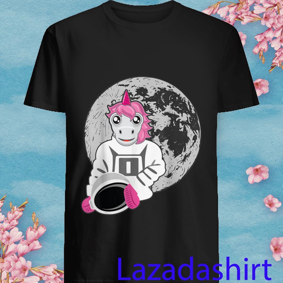 Astronaut Unicorn-Astronauts Landed on The Moon Shirt