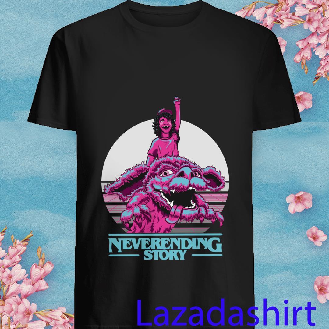 Neverending Story-Stranger Things Mashup Shirt