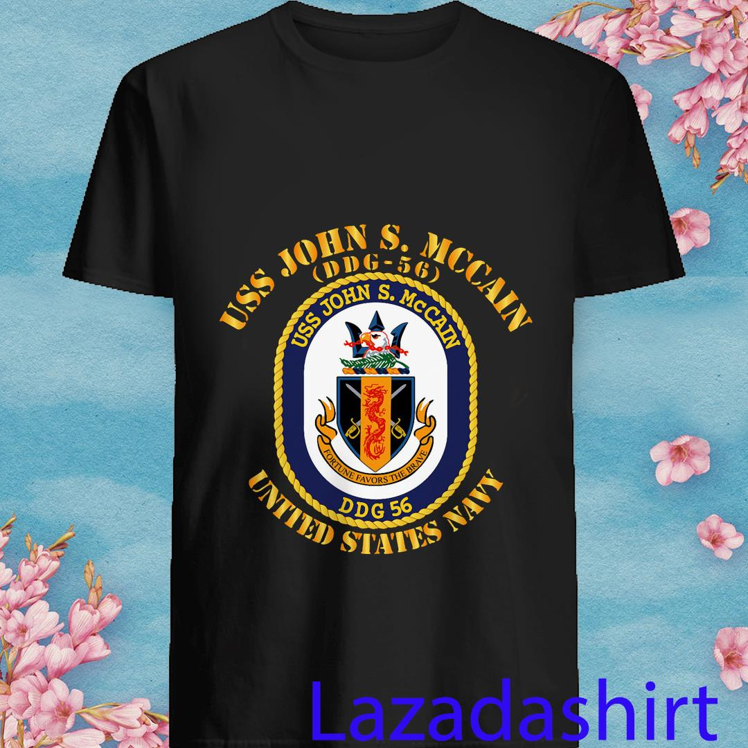 Uss John S. Mccain DDG-56 Shirt