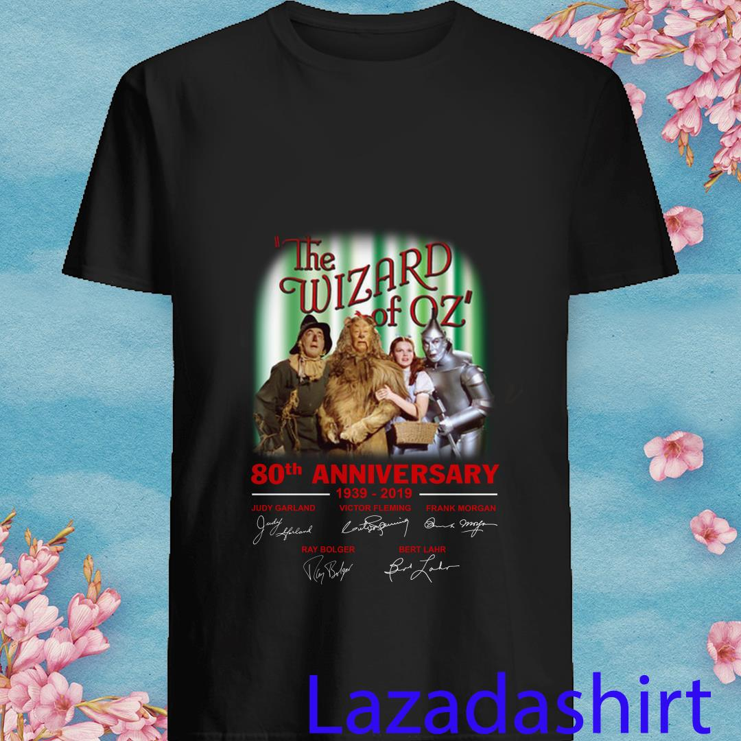 The Wizard of OZ 80th Anniversary 1939-2019 Signature Shirt