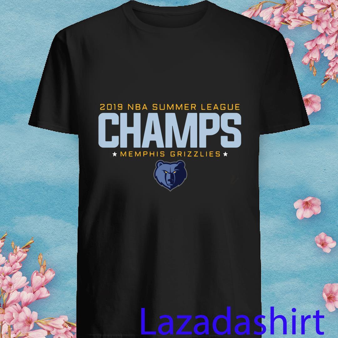 2019 NBA Summer League Champs Memphis Grizzlies Shirt