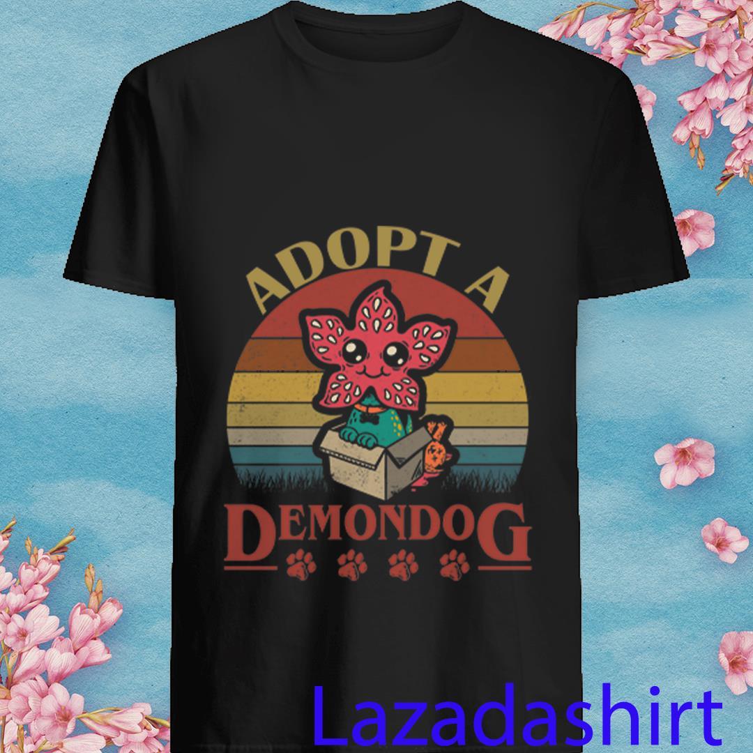Adopt A Demodog Vintage Stranger Things Shirt