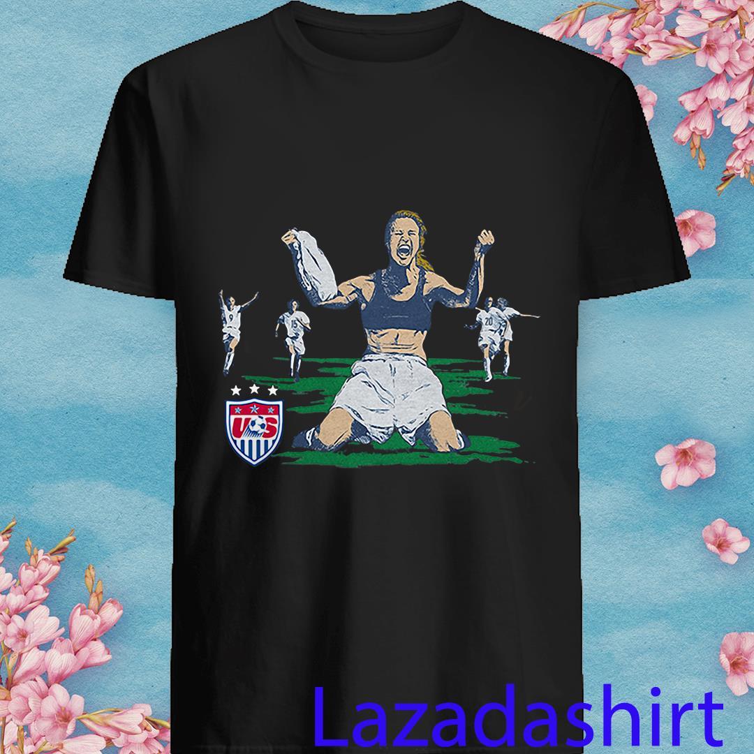 USWNT Brandi Chastain Goal from Homage Shirt