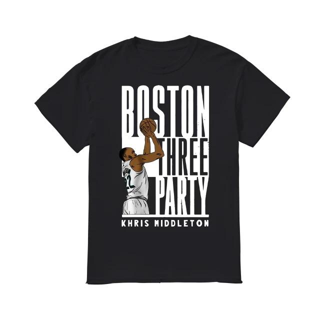 Boston three party Khris Middleton shirt
