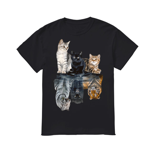 Cats always in yourself shirt