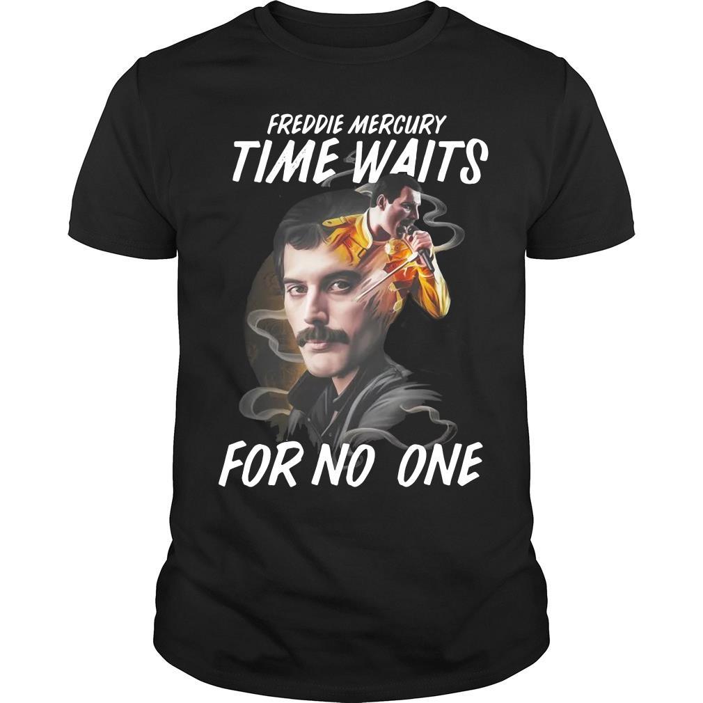 Freddie Mercury Time Waits For No One Shirt