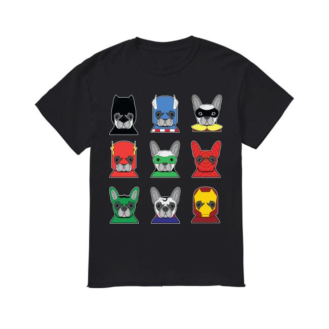 Frenchies avenger Heroes shirt