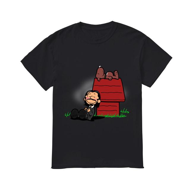 John Wick And Snoopy shirt