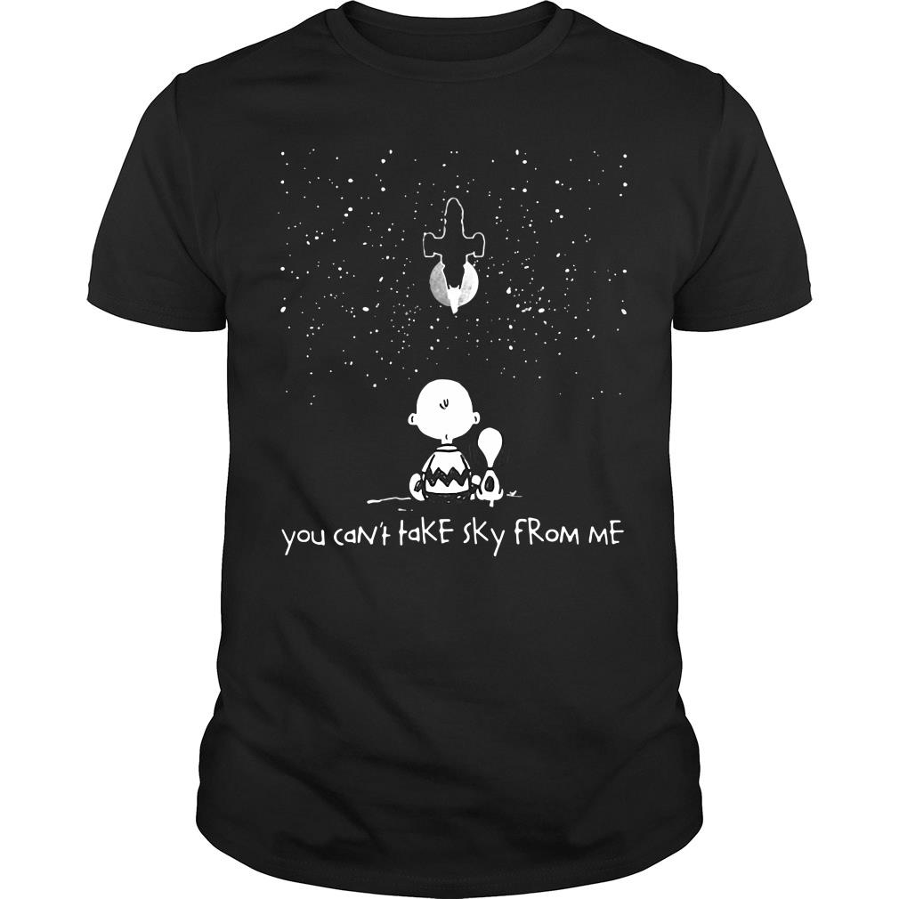 Snoopy And Tenten You Can't Take Sky From Me Shirt