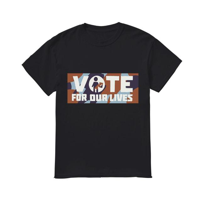 Warriors Steve Kerr vote for our lives shirt