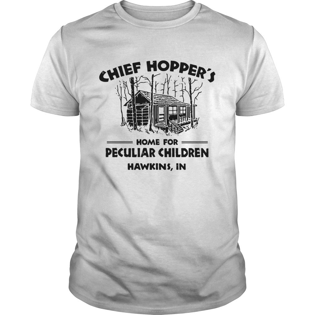 Chief Hoppers home for peculiar children Hawkins IN  Unisex