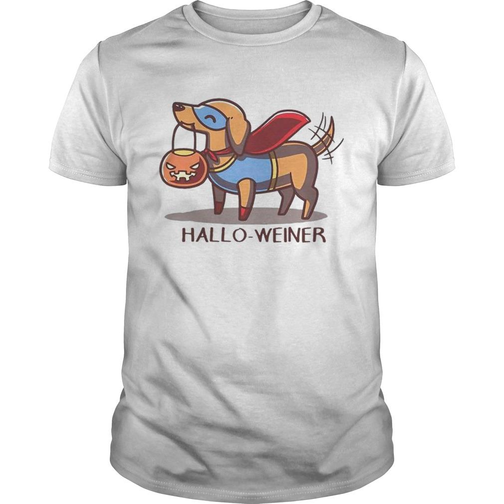 Halloweiner shirt