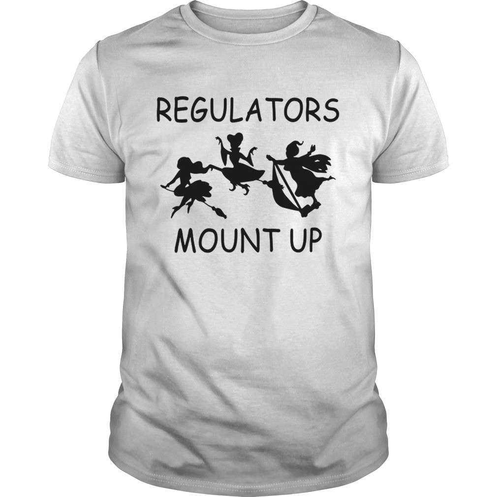 Official Hocus Pocus regulators mount up shirt