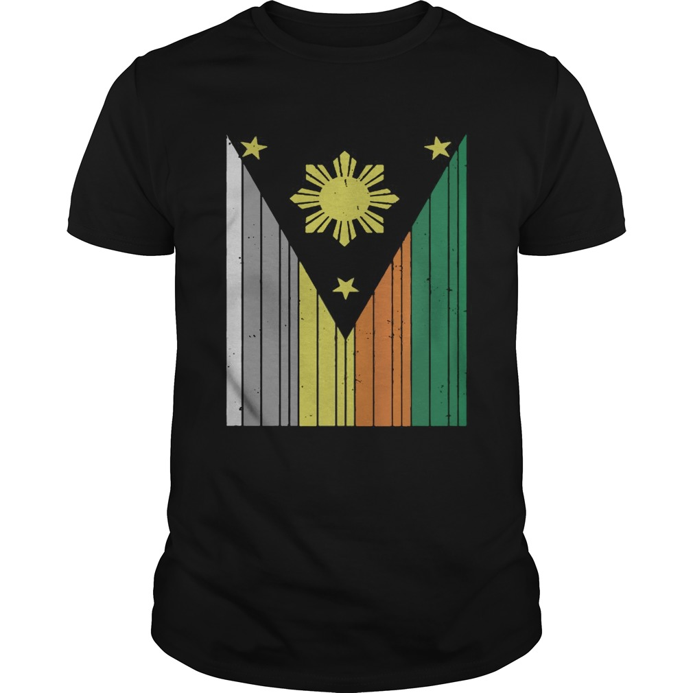 Jiu Jitsu Co Filipino Flag Shirt Unisex