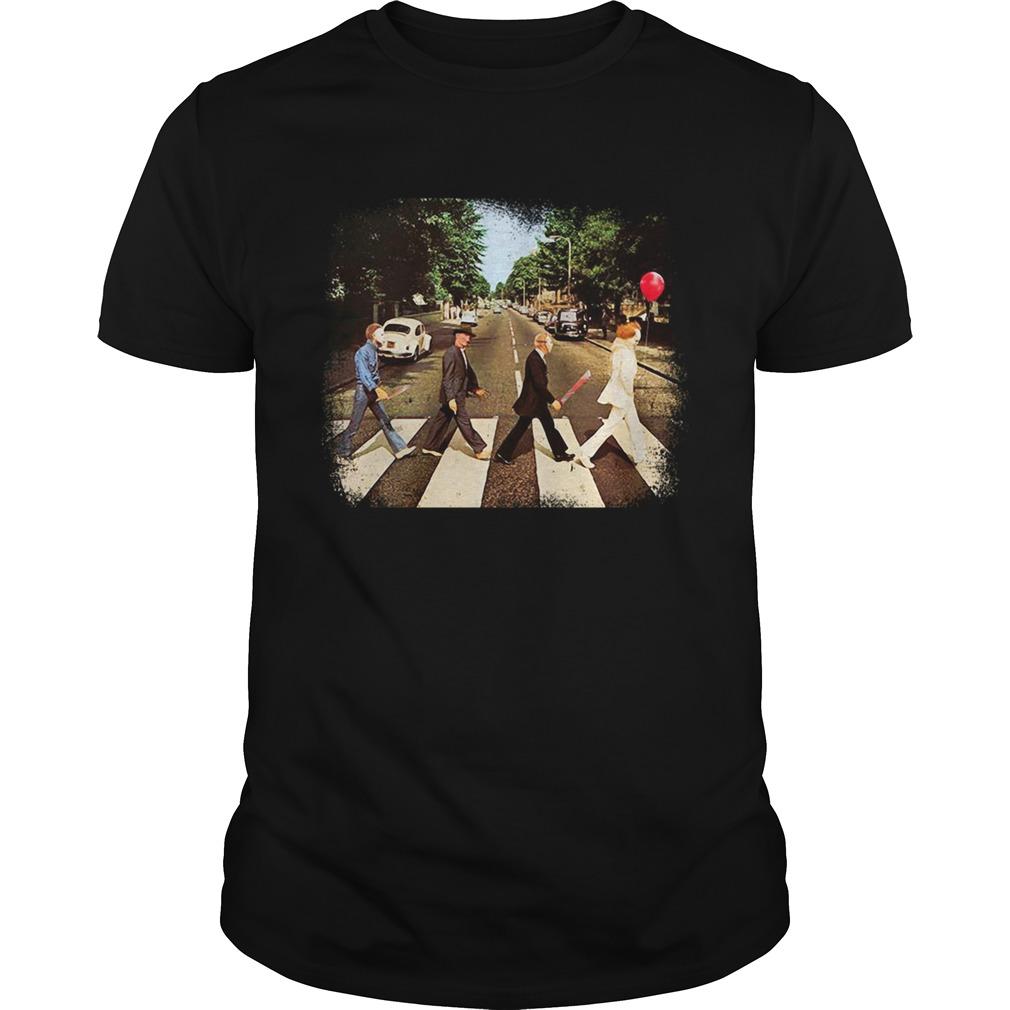 Freddy Krueger Michael Myers Jason Voorhees Abbey Road  Unisex
