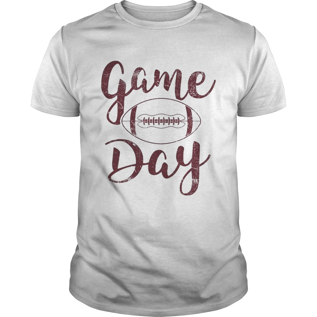 Game day football shirt
