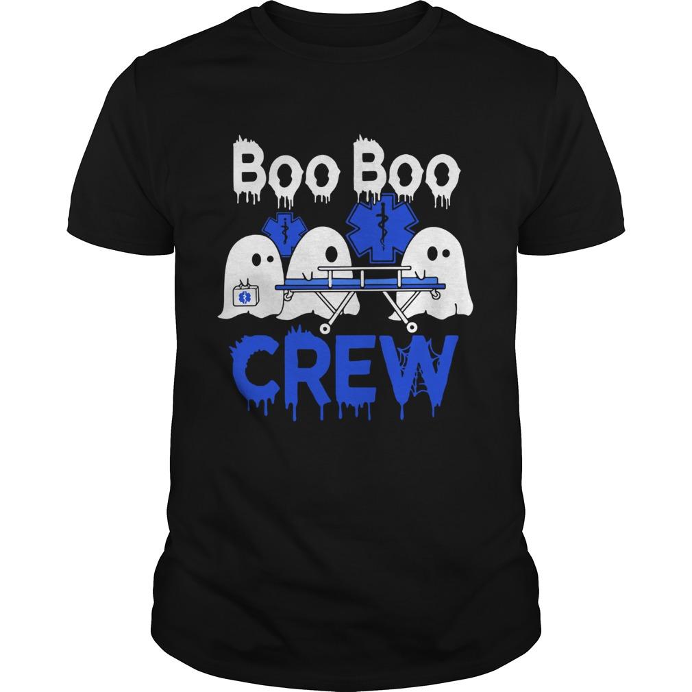 Ghost nurse boo boo crew  Unisex