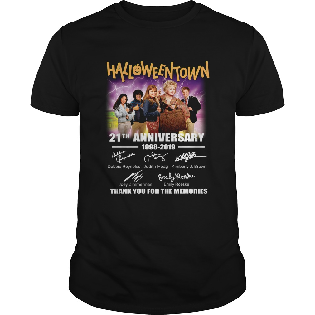 Halloween Town 21th anniversary 1998 2019 thank you for the memories  Unisex