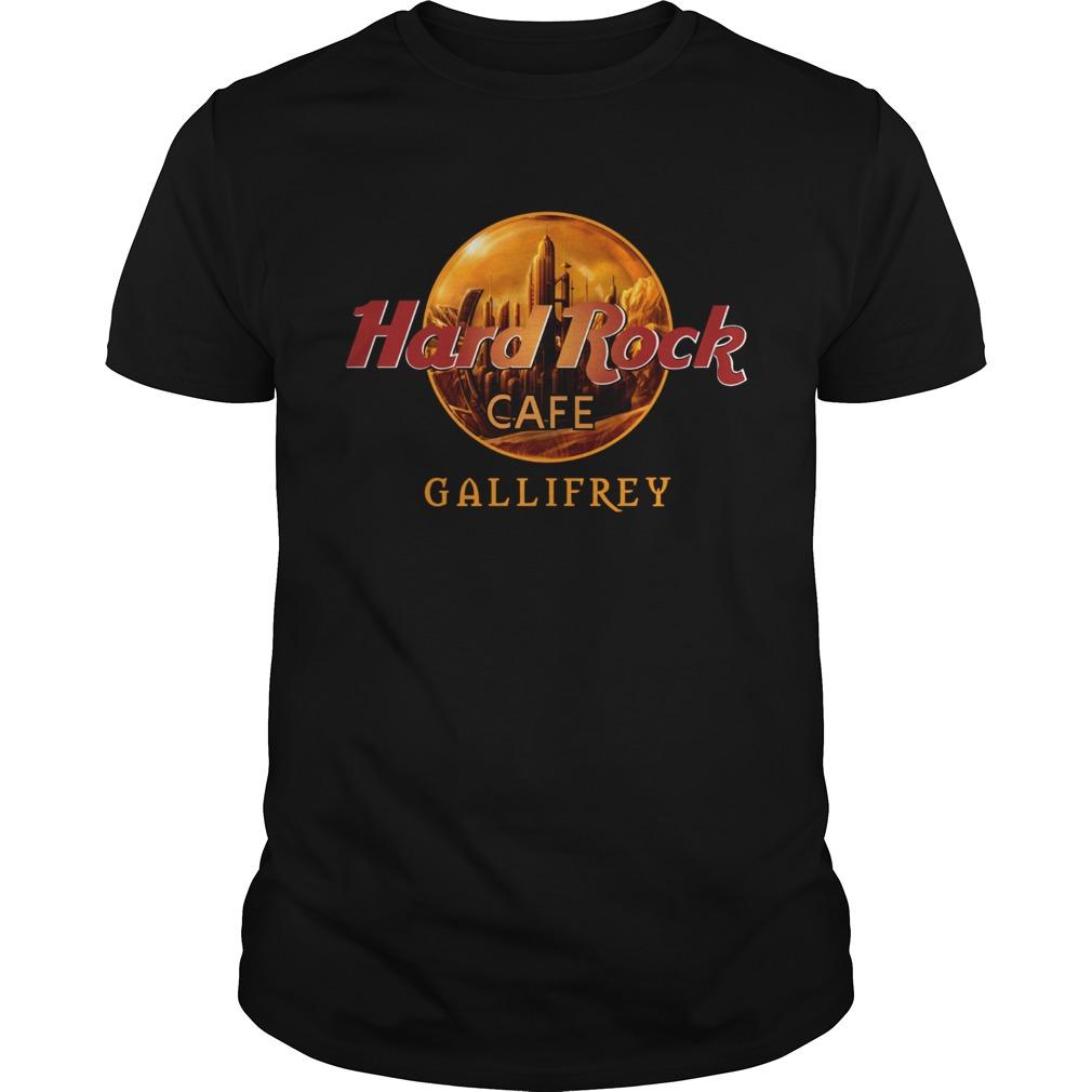 Hard rock cafe Gallifrey  Unisex