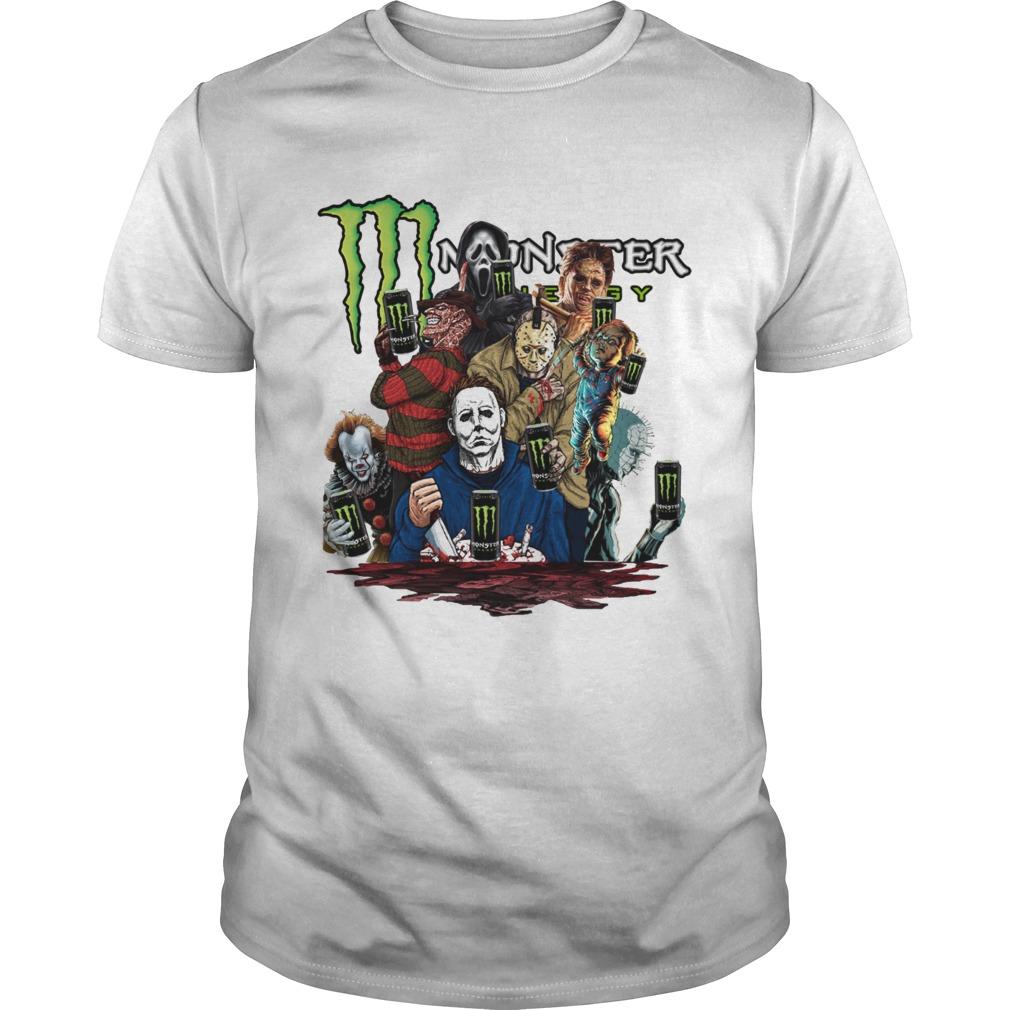 Horror character movie Monster Energy  Unisex