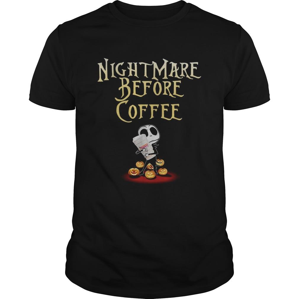 Jack Skellington nightmare before coffee Halloween  Unisex