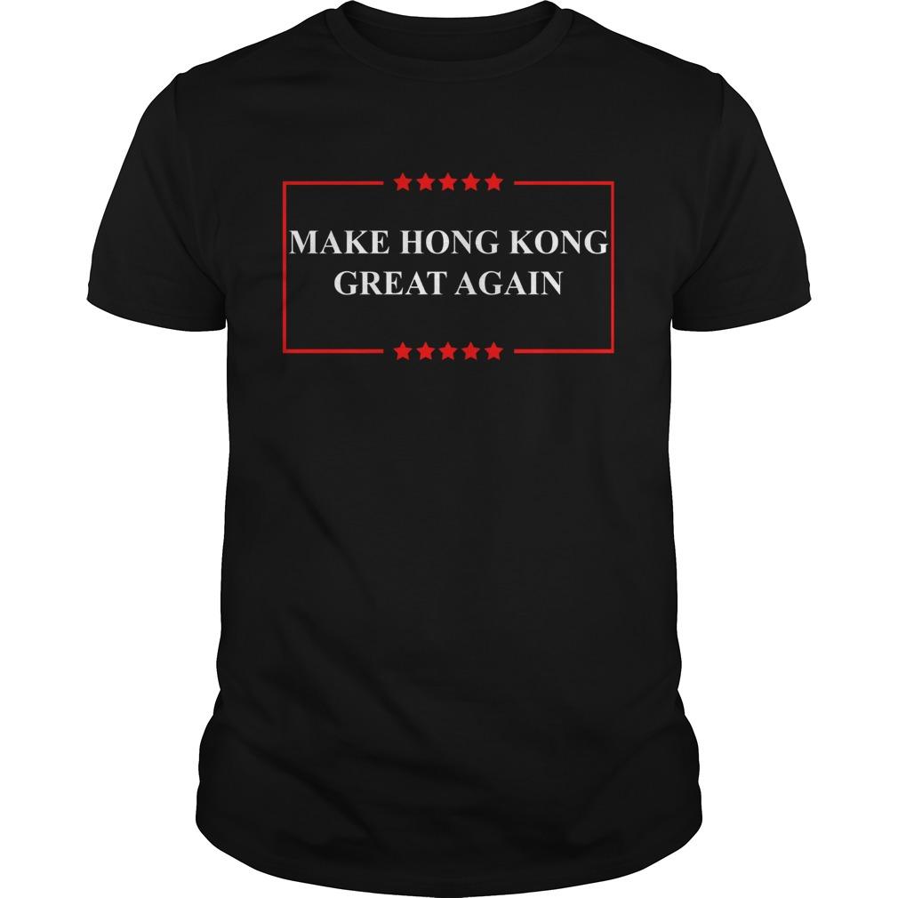 Make Hong Kong great again  Unisex