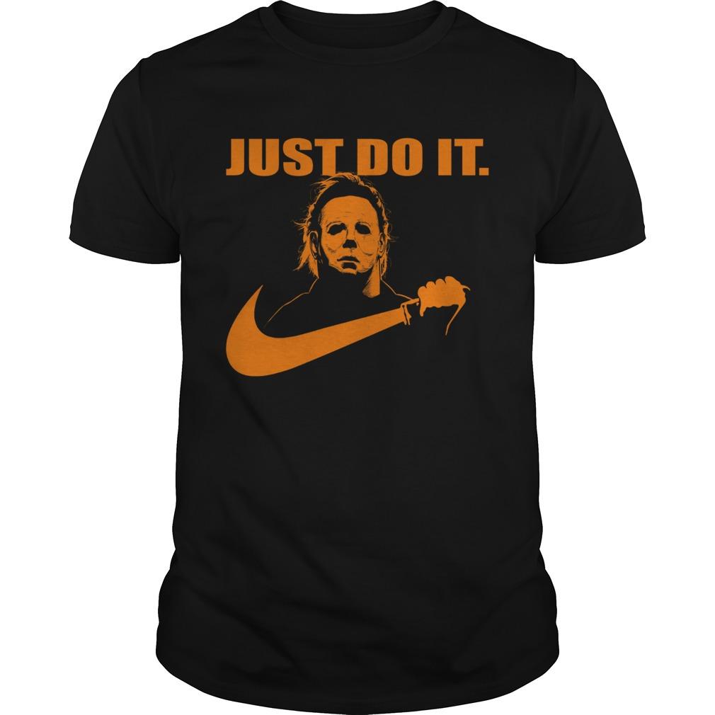 Michael Myers Just do it Nike Halloween 2019 shirt