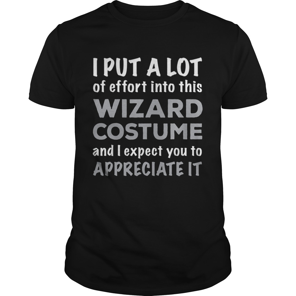 Official Easy Lazy Wizard Halloween Costume  Unisex