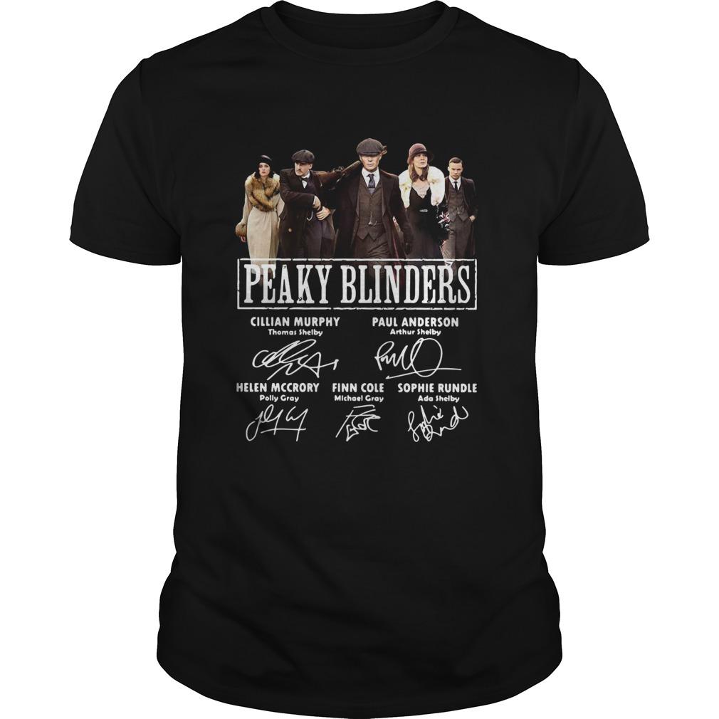 Peaky Blinders signatures  Unisex
