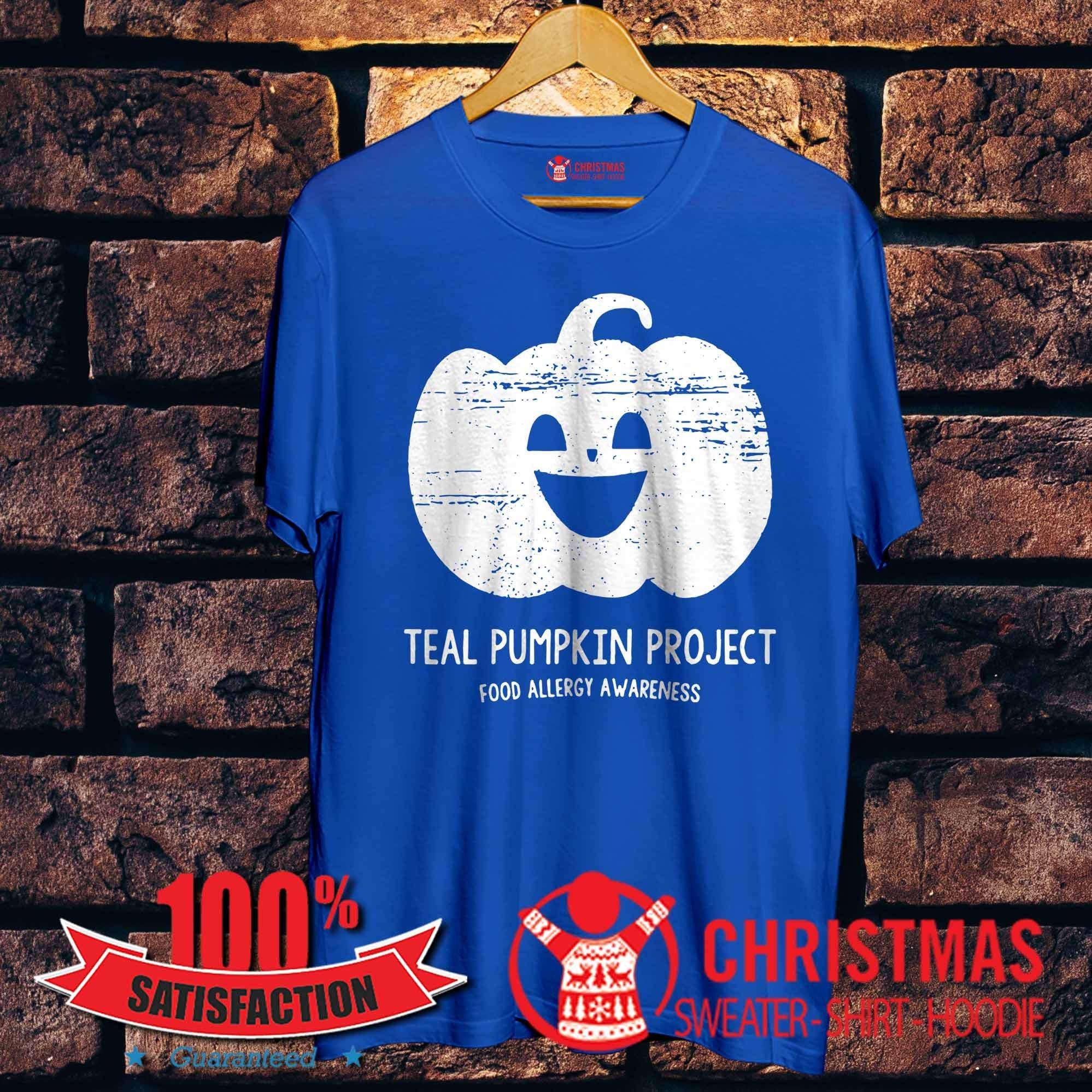 Teal Pumpkin Project food allergy awareness shirt