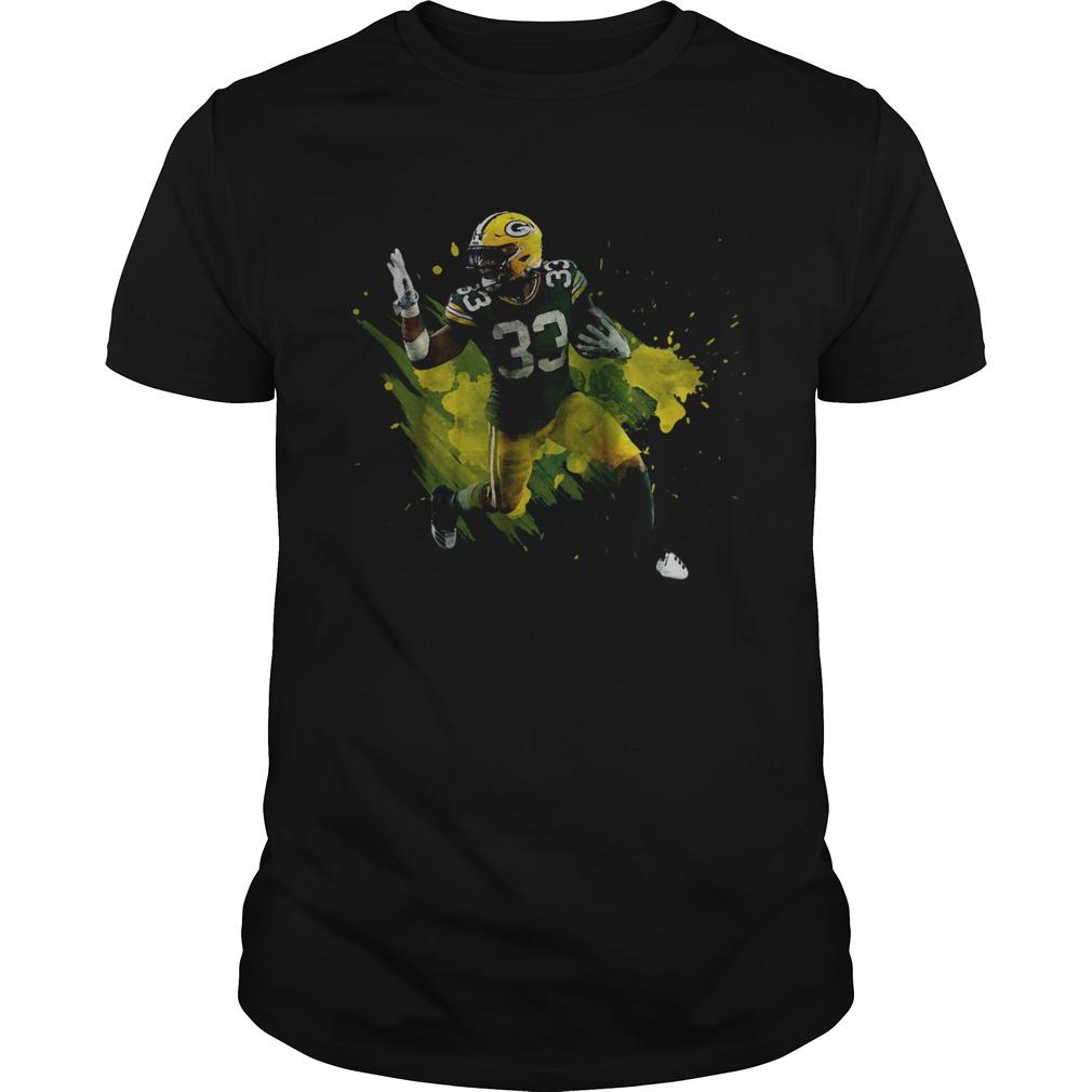 Aaron Jones Green Bay Packers Running Back  Unisex