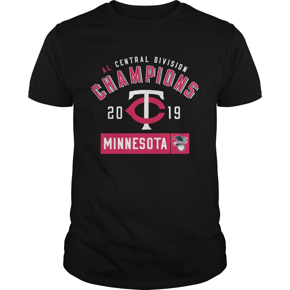 Al central division champions 2019 Minnesota Twins  Unisex