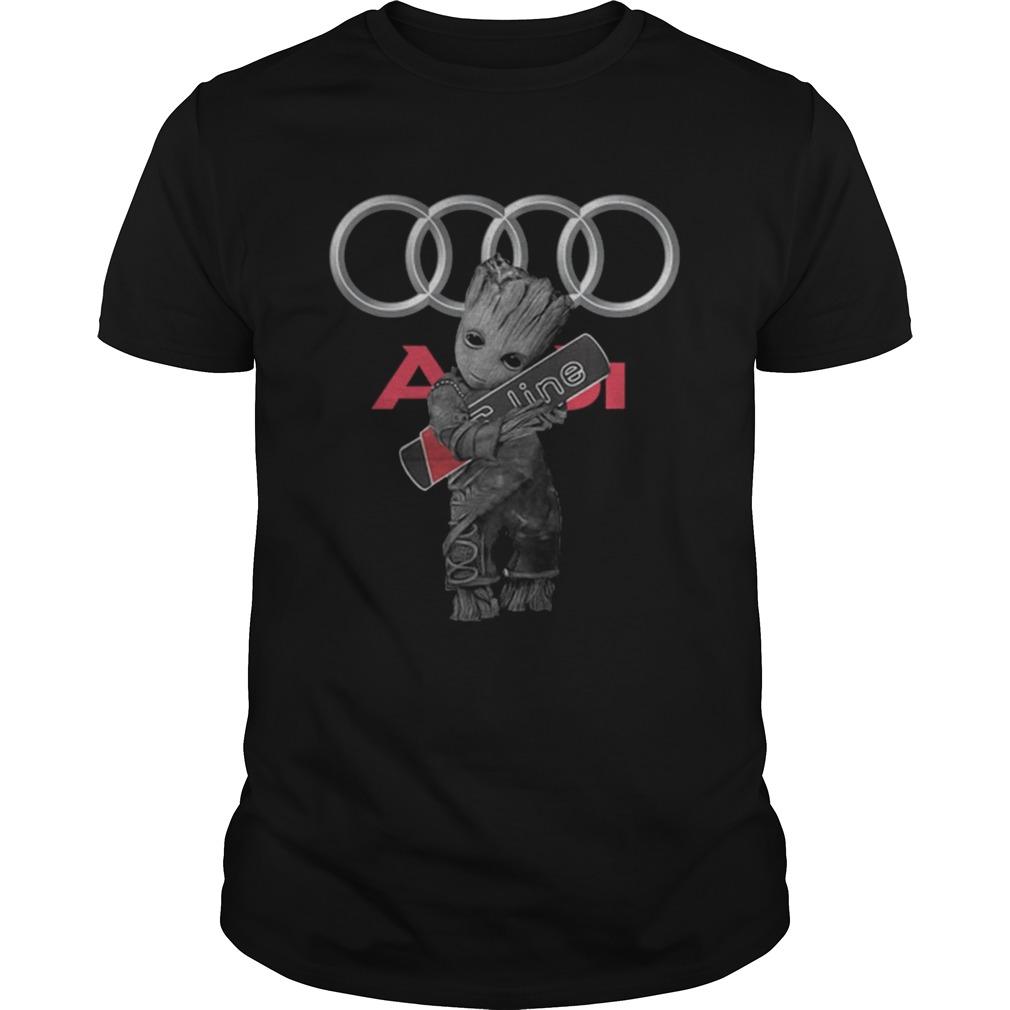 Baby Groot hug Audi SLine  Unisex