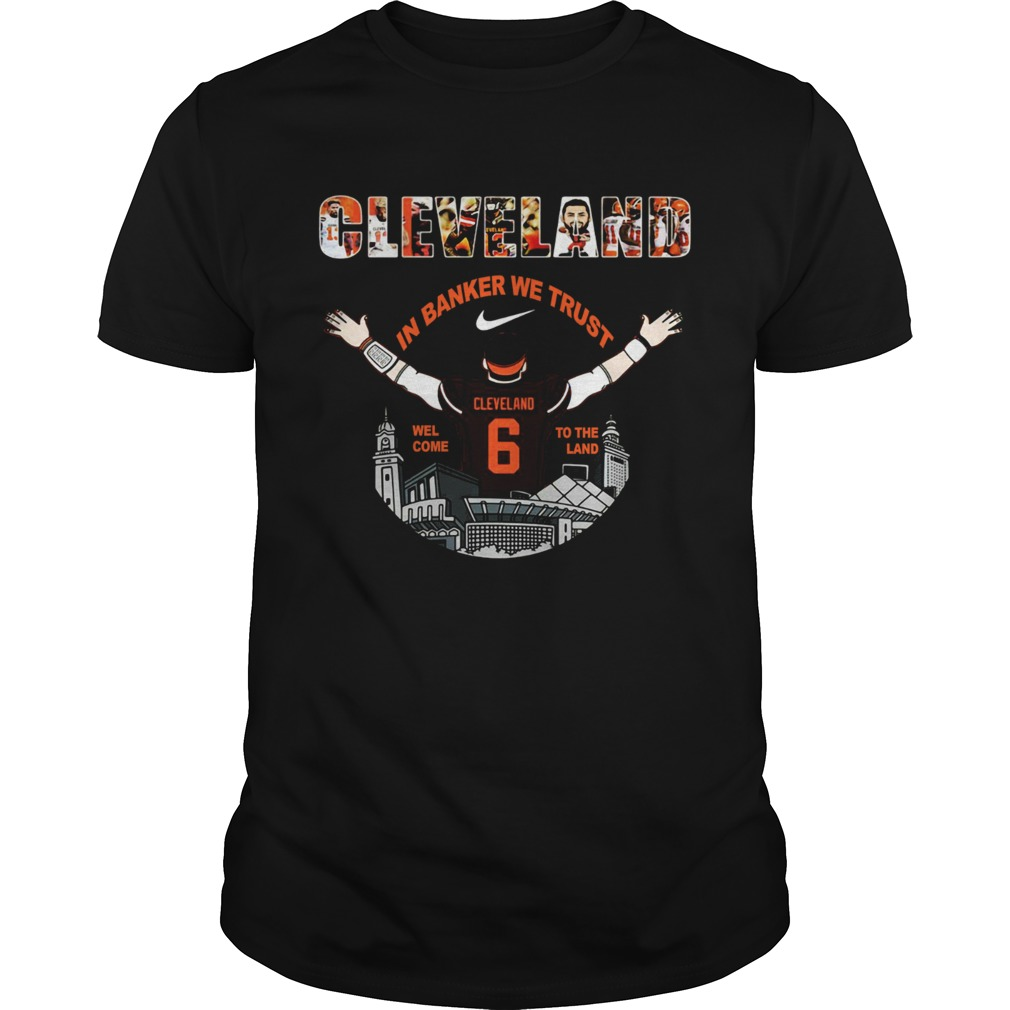 Baker Mayfield Player Cleveland Browns NFL 2019 shirt