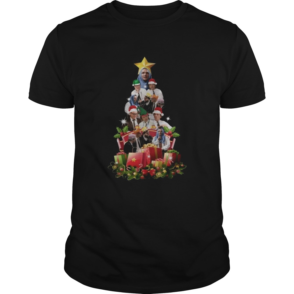 Bottom Richie and Eddie Christmas Tree  Unisex