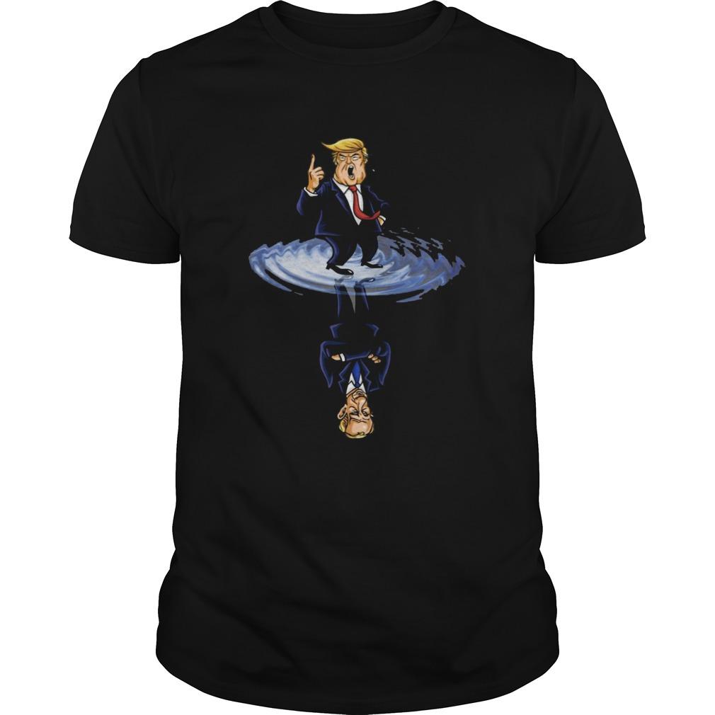 Donald Trump water reflection  Unisex