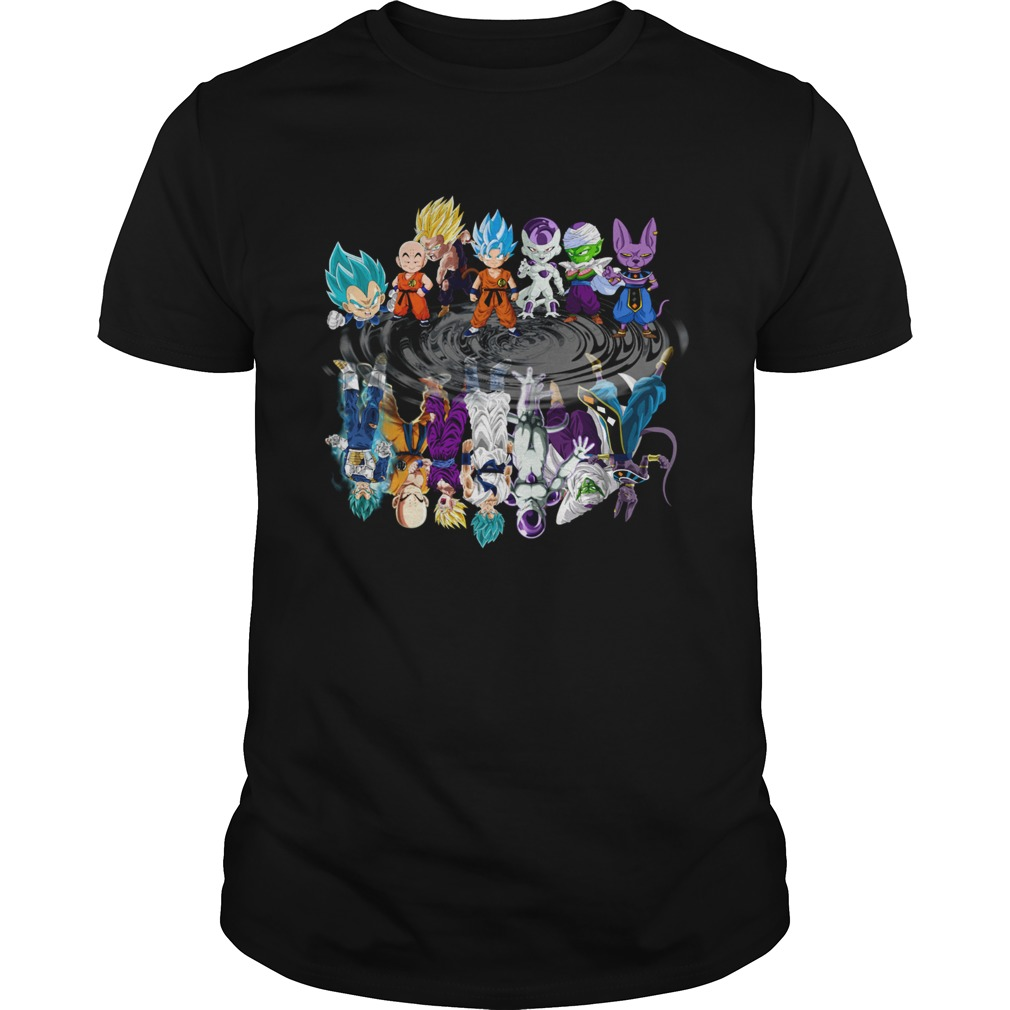 Dragon Ball all characters mirror reflection  Unisex