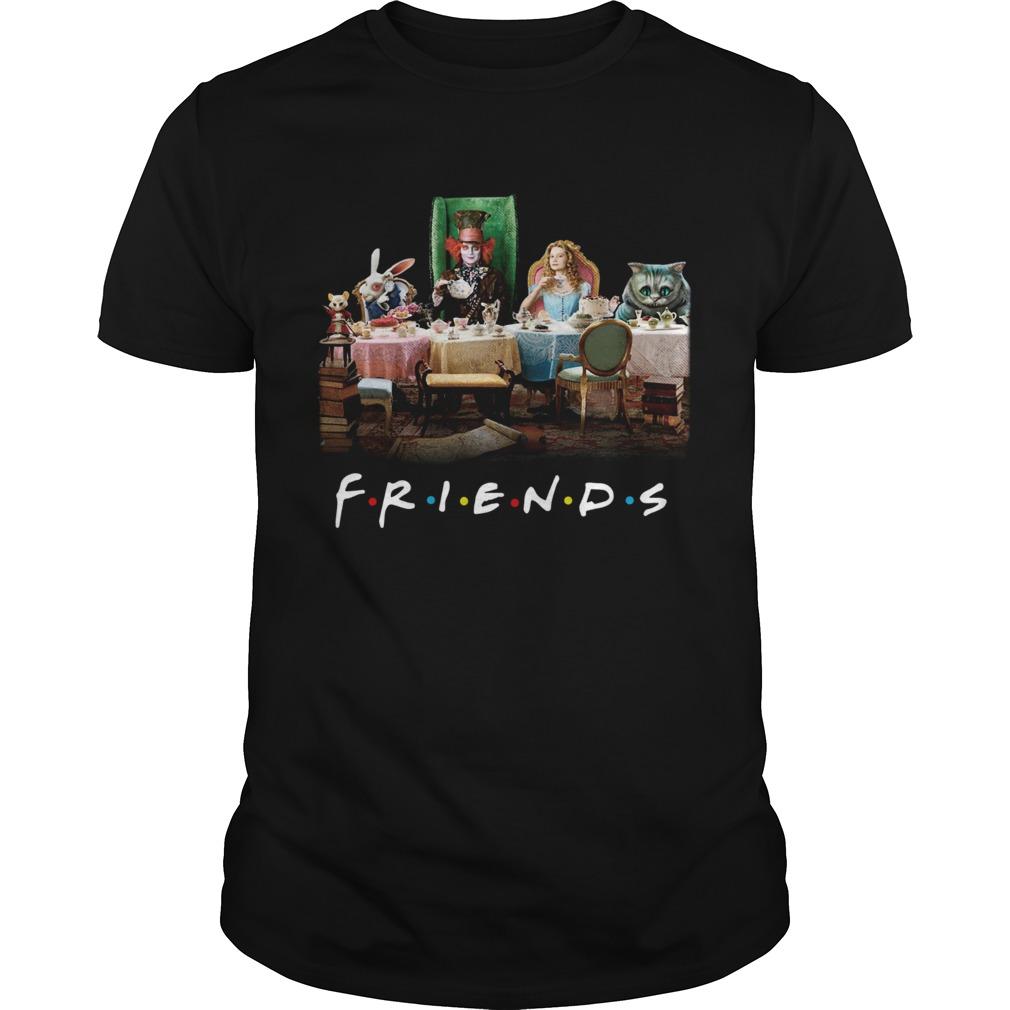 Friends Alice In Wonderland Tim Burton  Unisex