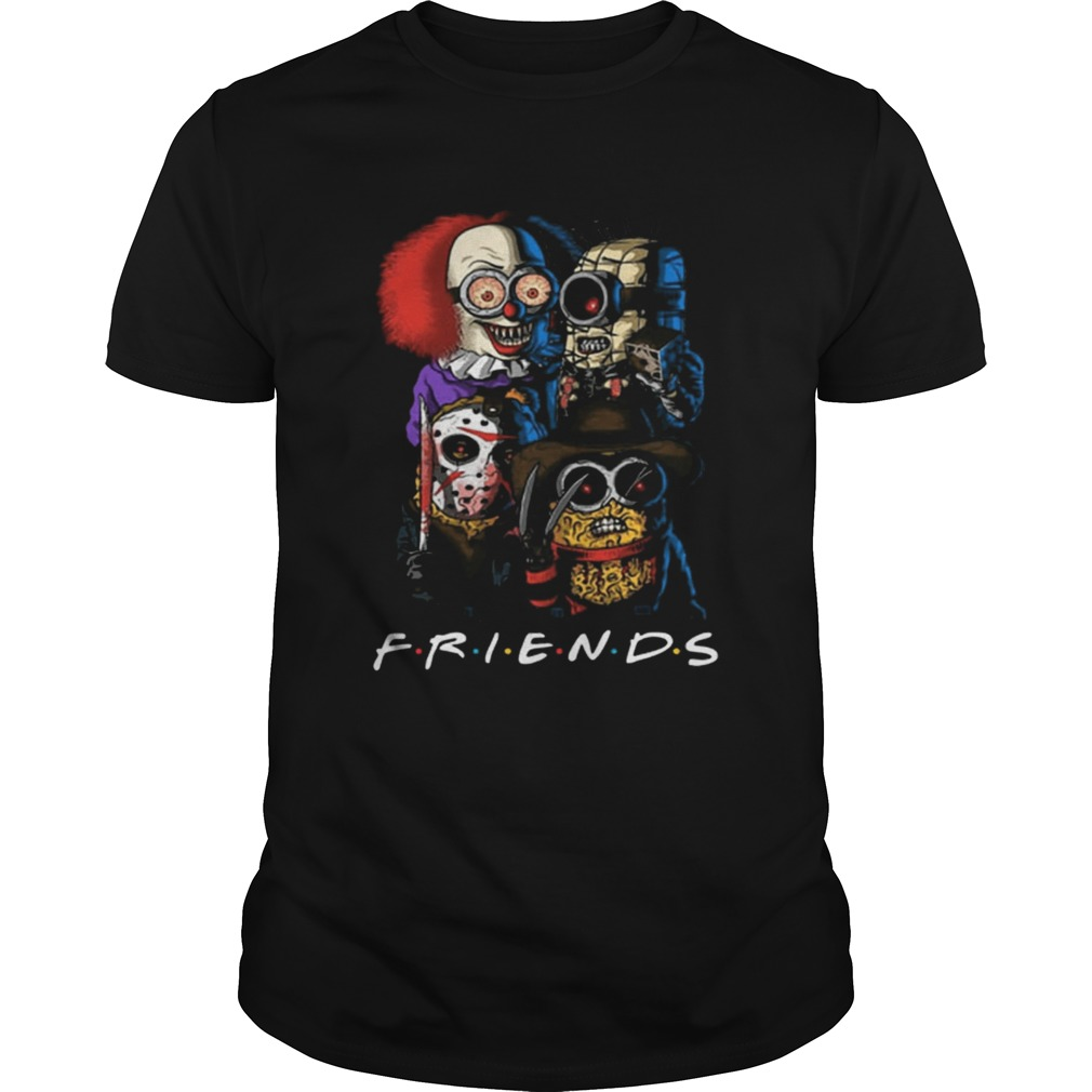 Friends Minions horror movie characters  Unisex