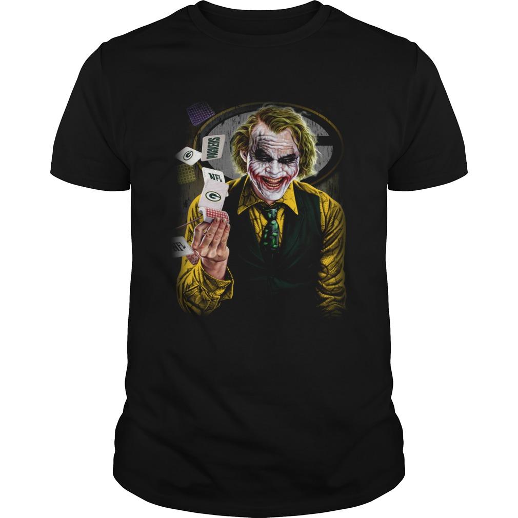 Green Bay Packers Joker Poker Shirt Unisex