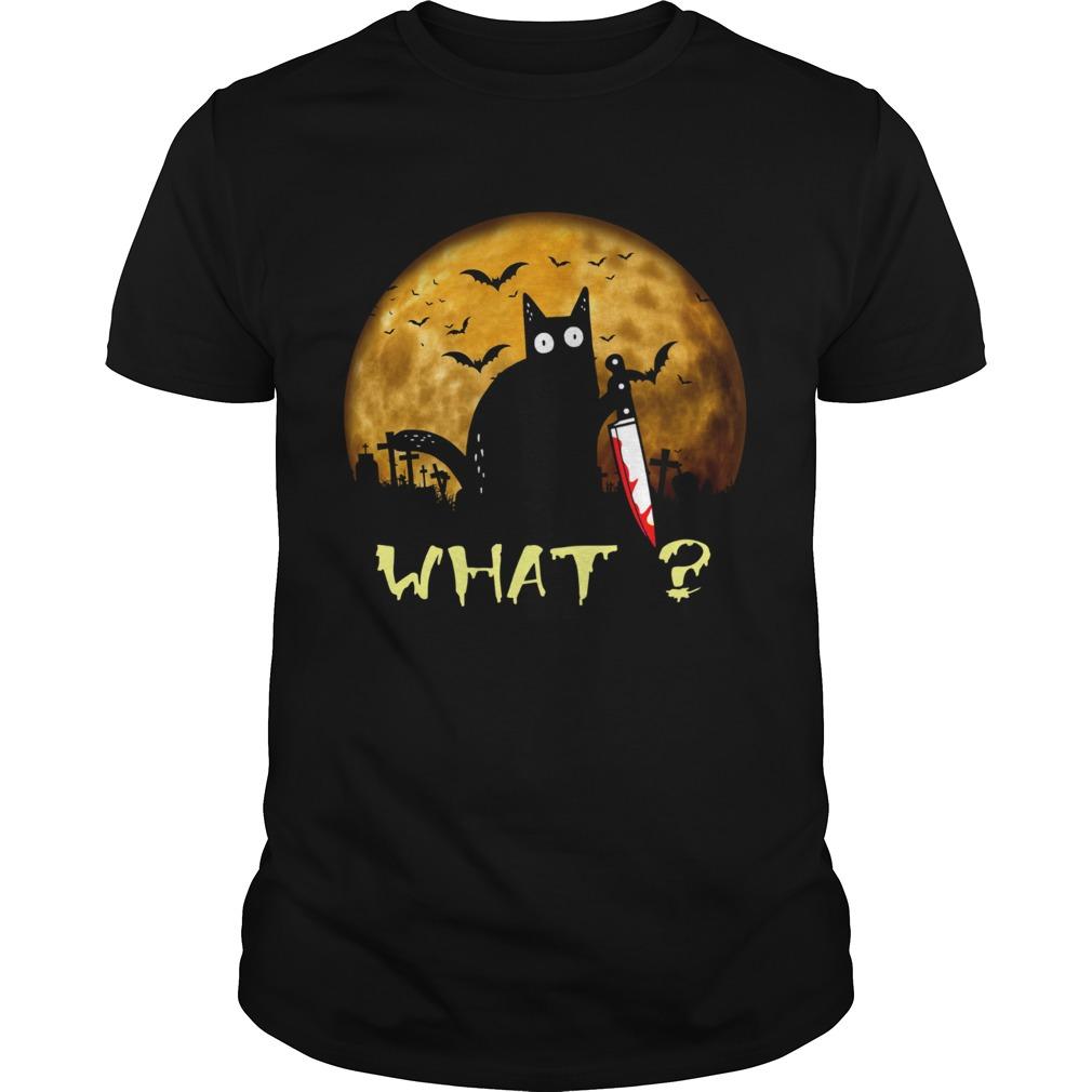 halloween black Cat Michael Myers What  Unisex
