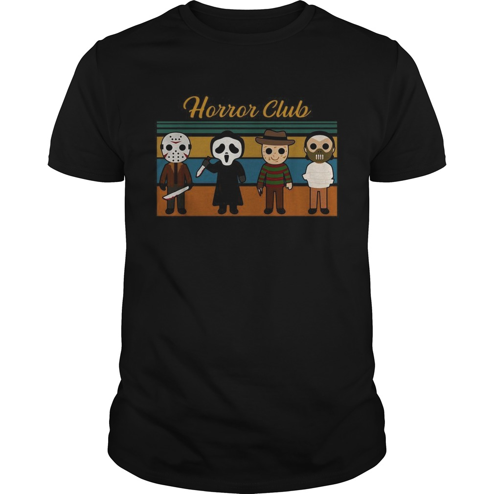 Halloween Horror club Horror character vintage  Unisex