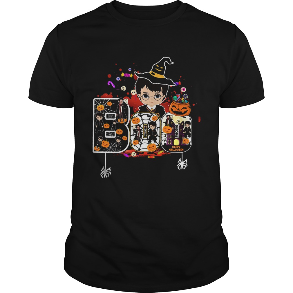 Harry Potter boo happy Halloween shirt