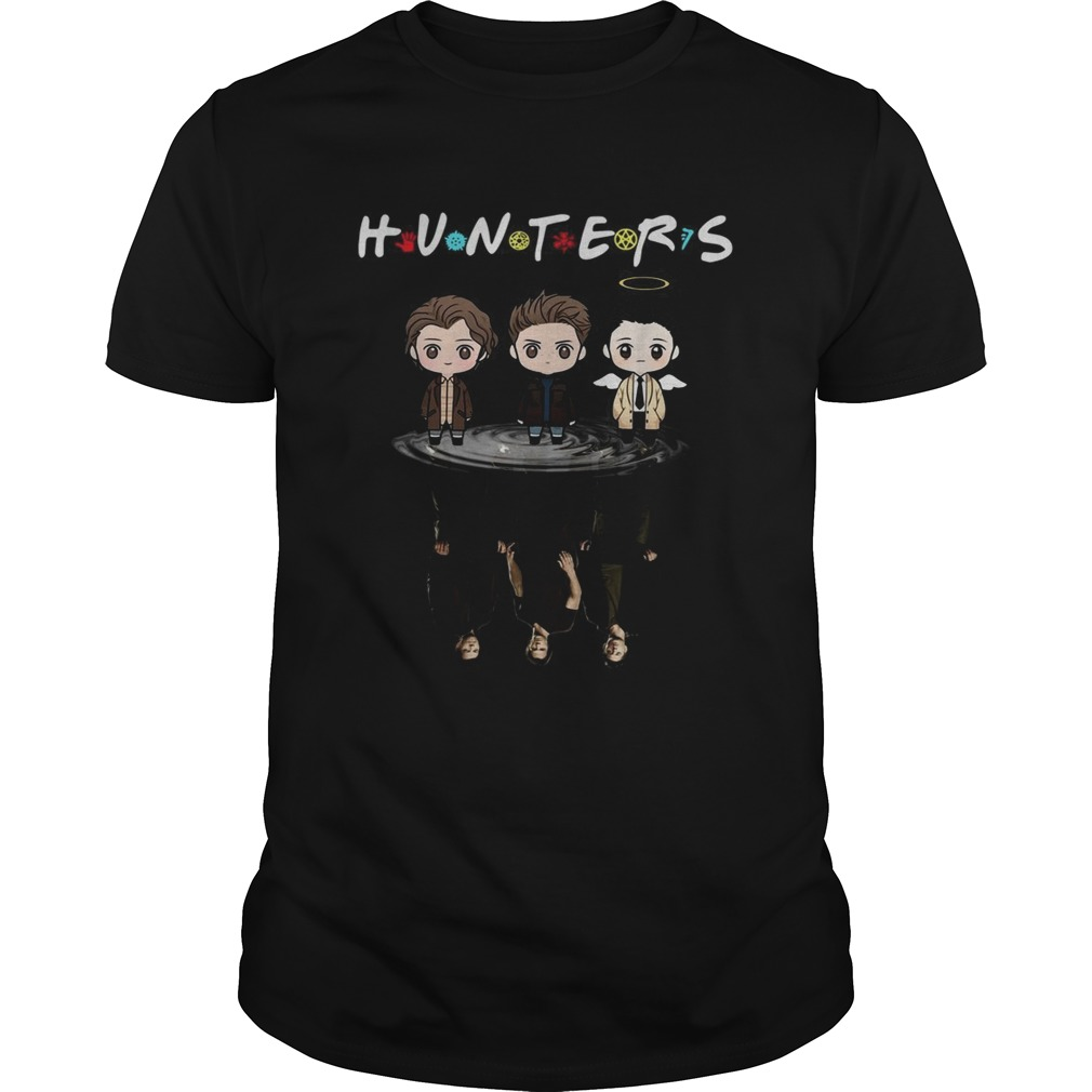 Hunters Chibi Supernatural water reflection  Unisex