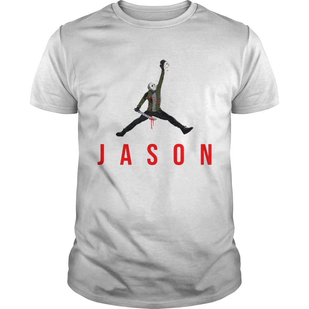 Jason Voorhees Air Jordan logo  Unisex