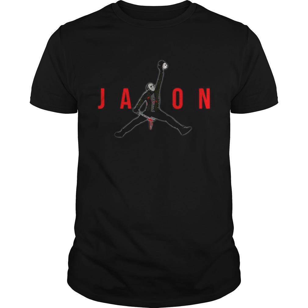 Jason Voorhees Air Jordan  Unisex