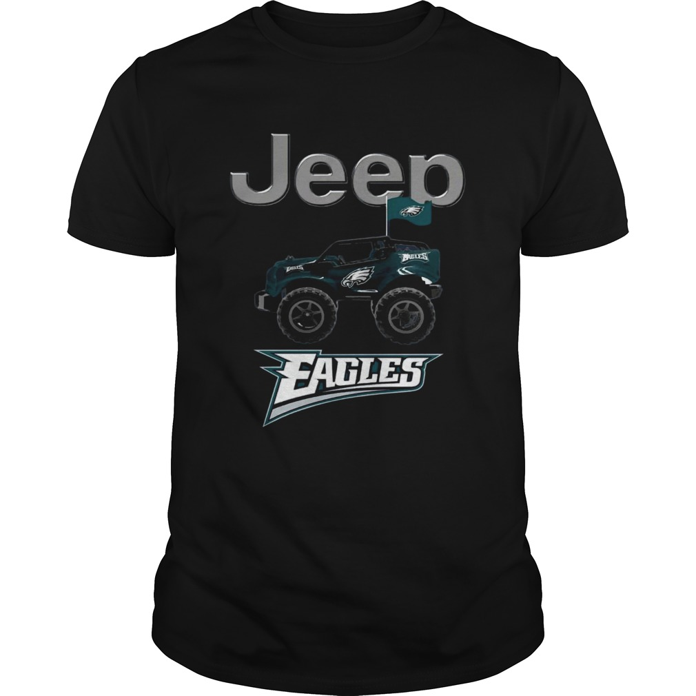 Jeep Flag Philadelphia Eagles  Unisex