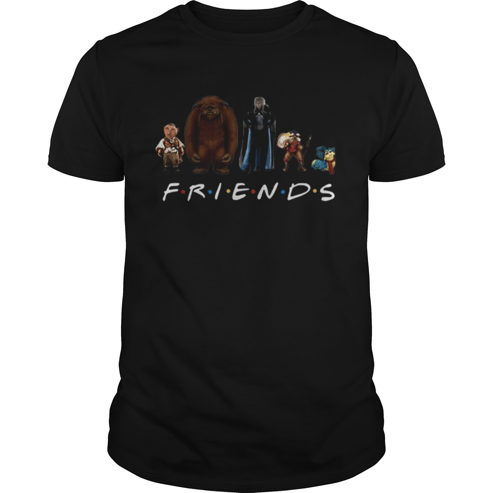 Labyrinth Characters Horror Friends Tv Show  Unisex